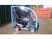 Silver TGA Vita Midi Breeze 4 Mobility Scooter