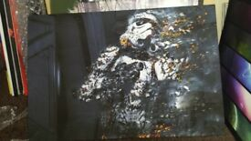 Star wars canvas wall art. 20 x 30 inches.large