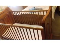 Beautiful Wooden Cot Bed
