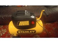 Stanley 24 Litre 116 psi Air Compressor with 5 Piece Accessory Kit collection only