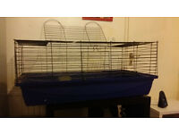 Guinea Pig / Rabbit / Rodents cage + water bottle, hide house, bowl, comb, shampoo