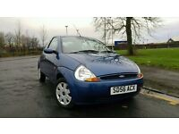 2006 Ford Ka 1.3 Style 3 Door Manual Petrol - Service History - MOT Nov 2017 - 54764 Genuine Miles