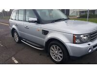 2008 range rover 2.7 sport can be viewed in glasgow