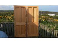 Softwood internal doors
