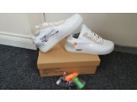 Nike Off White Air Force 1 Size 9