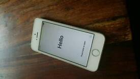 Iphone 5s 16gb unlocked white / silver