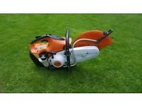 Stihl TS410 petrol saw cutter
