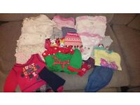 Baby girl clothes bundle 0-3 months Next, M&S, Gap, Mothercare