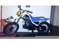 Pw 80 not kx rm cr motocross bike