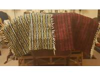 Assorted Numnahs And Saddle Pads