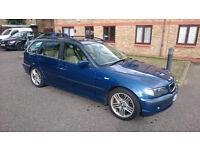 BMW e46 330d estate diesel sport sat nav 1600 ONO
