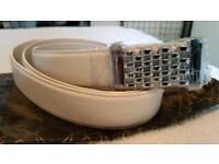 Ladies anthoni crown lederguertel belt