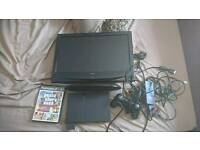 PS2 slimline and Small TV
