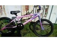 Here's a very nice girls bmx bike for sale