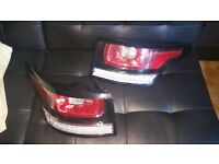 RANGE ROVER SPORT REAR LED LAMPS 2014 ONWARDS