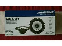 Alpine SXE - 1725S 2-Way Speaker System - New