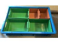 Plastic Crate Storage Tub / Garage Car Boot Organizer (Brentwood Branch)