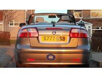 Saab 2.0t 9-3 convertible 175BHP auto registered Nov 2005 on 55 plate