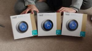 """Buy NEST THERMOSTAT from us & Save A Lot"" Nest 3rd Gen Thermostat ""Brand New & Sealed"" @ 239.99 $ ""Buy from Store"""