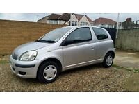 toyota yaris 2004 1.0 HPi clear 62000 mileage good coundition cheap insurance