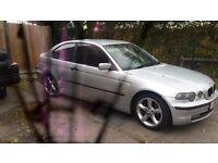 bmw e46 2002 compact 316ti long mot drive away £550