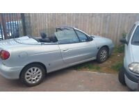 Renault megan convertible px or swap