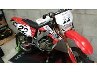 Honda CRF 250X 05 road registered. Swap for road bike 600cc plus