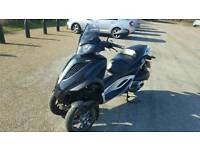 2011 piaggio mp3 yourban 300cc 3 wheels full service history