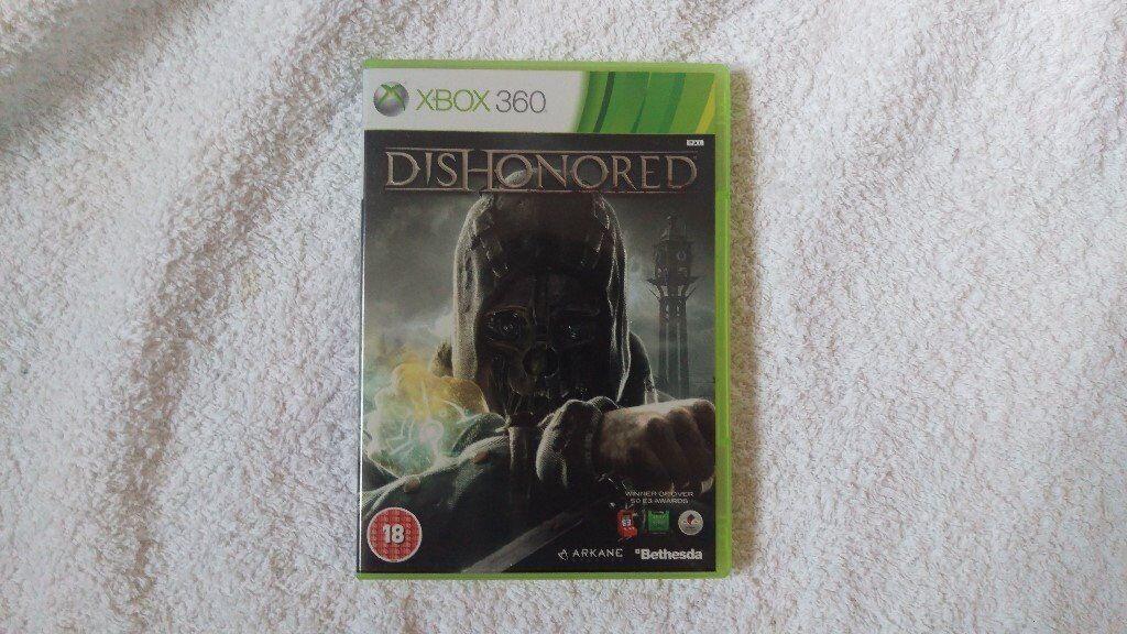 Dishonored Xbox 360 Nottingham V.GOOD Condition