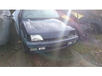 FORD FIESTA RS1800 unfinished project