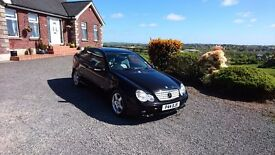 Mercedes c220 , coupe ,automatic diesel, FSH
