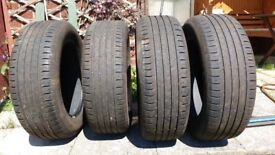 Car Tyres 215/60R17H Continental ContiecoContact