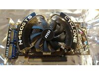 MSI GTS450 PCI-E Graphics card for sale, 1GB GDDR5, excellent condition
