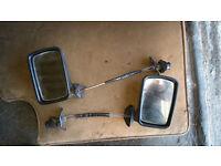 VW Golf Jetta Caddy mk1 mk2 Adjustable Mirrors