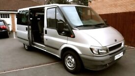 LHD 9 SEATER FORD TRANSIT TURNEO LEFT HAND DRIVE