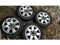 VW alloy wheels 205 55 16