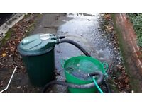 Garden Pond Pump - Blagdon 30,000 P-UV. Model 320UK 230v 50HZ. Approx 6 years old. I prove its works