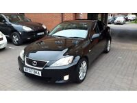 BARGAIN. BEAUTIFUL LEXUS IS 250. NEW MOT.