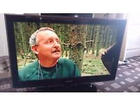 """SAMSUNG 40"""" FULL HD 1080P LCD TV FREEVIEW/MOVIE PLUS/USB PORT PIANO BLACK FINISH NO OFFERS"""