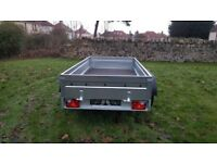 NEW CAR TRAILER 2700KG 10 X 5 with braked