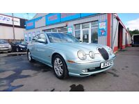 2004 Jaguar S-Type 2.5 V6, AUTOMATIC, 103,000 Full Service History, Immaculate condition.