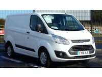 2016 FORD TRANSIT CUSTOM TREND EDITION. ONLY 24000 MILES. EVERY EXTRA. PLY LINED. BULKHEAD ETC.