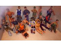 Set of 15 Action Man heroes