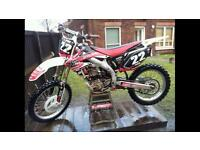 Honda CRF 450R 2008 limited edition