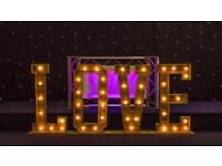 Rustic Love Letter - Illuminated Rustic Love Letter