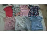 12-18 months girls clothes large bundle - 66 items