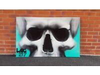 Orginal Spray painting canvas