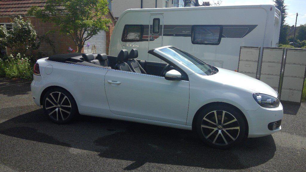 2012 Volkswagen Golf Cabriolet Gt 20 Tdi Bluemotion With Private