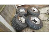 quad bike tyres suzuki ltz ltr