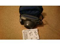 fuji instax 200 manual & bag.